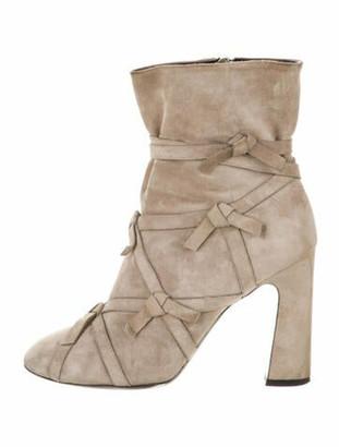 Roger Vivier Suede Boots
