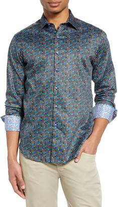 Robert Graham Fruit Cocktail Print Button-Up Shirt