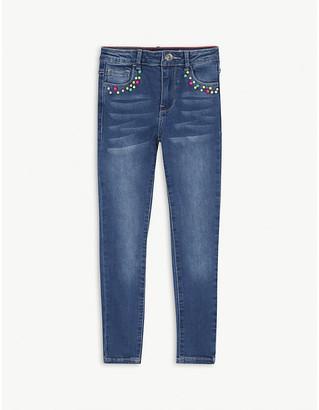 Billieblush Bead pocket denim jeans 4-12 years