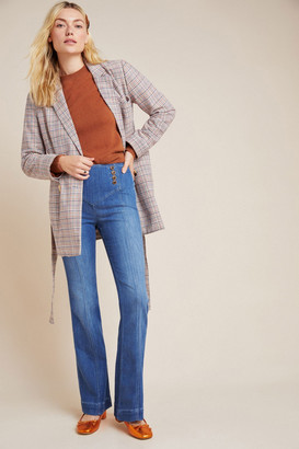 Pilcro And The Letterpress Set Sail Seamed Flare Jeans