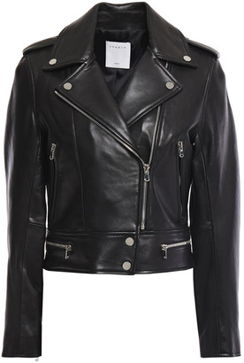 Sandro Siouxie Leather Biker Jacket
