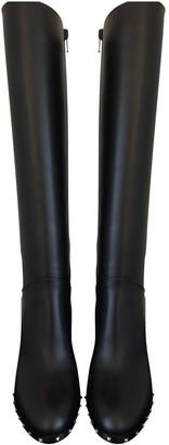 Valentino Black Leather Boots