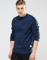 Bellfield Triangle Knitted Knitted Sweater