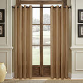 Asstd National Brand Stratford Park Woven Burlap Grommet-Top Curtain Panel