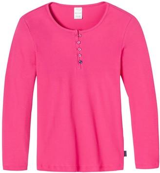 Schiesser Girl's Shirt 1/1 Pyjama Top