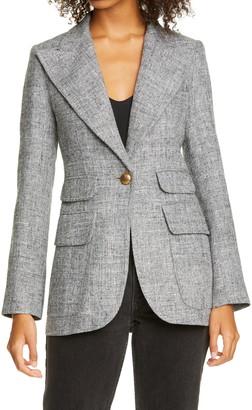Smythe Birkin Tweed Blazer