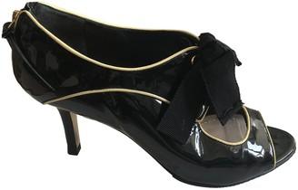 Miu Miu Black Patent leather Ankle boots