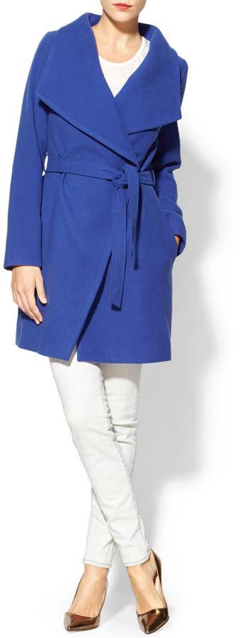 Rachel Zoe Pim + Larkin Funnel Neck Coat