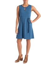 Lysse Zanzibar Striped Drawstring Dress