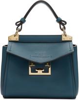 Givenchy Blue Mini Mystic Top Handle Bag