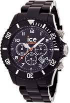 Ice Watch Ice-Watch Men's CHRONO CH.BK.B.P.09 Plastic Quartz Watch with Dial