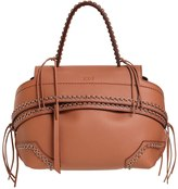 Tod's Mini Wave Eyelets Grained Leather Bag