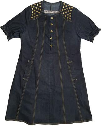 Baum und Pferdgarten Blue Cotton - elasthane Dresses
