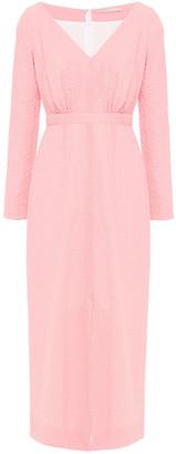 Emilia Wickstead Callista Cotton-blend Cloque Midi Dress