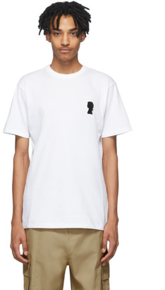 Vans White Jim Goldberg Edition Embroidered T-Shirt