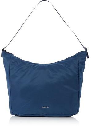 Label Lab Nylon Hobo Bag