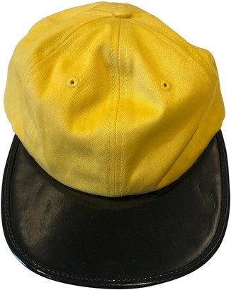 Supreme Yellow Synthetic Hats