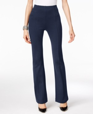INC International Concepts Inc High-Waist Bootcut Pants, Created for Macy's