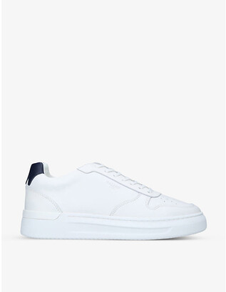 Mallet Hoxton leather trainers