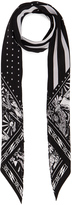 Rockins for FWRD Desert Paisley Classic Skinny Scarf
