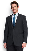 Classic Men's Tailored Fit Wool Year'rounder Suit Jacket-True Navy