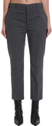 Mauro Grifoni Pants In Grey Wool