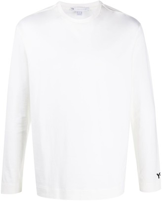 Y-3 rear logo print T-shirt