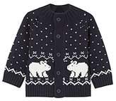 Jacadi Boys' Intarsia Polar Bear Cardigan - Baby