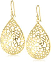 Argentovivo 18k Gold-Plated Sterling Silver Drop Earrings