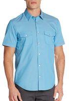 Calvin Klein Regular-Fit Cotton Sportshirt