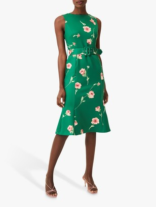 Phase Eight Anais Scuba Dress, Jade