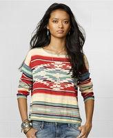 Denim & Supply Ralph Lauren Long-Sleeve Southwestern-Print Sweater