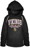 5th & Ocean Girls' Minnesota Vikings Raglan Hoodie