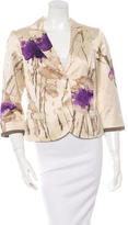 Etro Abstract Print Fitted Jacket