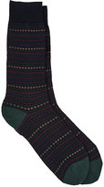 Barneys New York Men's Geometric-Pattern Mid-Calf Socks