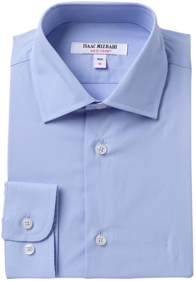 Isaac Mizrahi Solid Button Up Shirt (Toddler, Little Boys, & Big Boys)