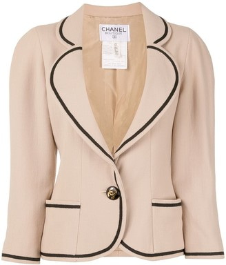Chanel Pre Owned CC long sleeve jacket