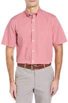 Nordstrom Smartcare(TM) Gingham Sport Shirt (Big)
