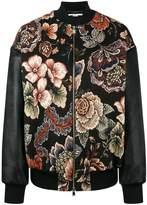 Stella McCartney Sabina tapestry bomber jacket