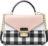 MICHAEL Michael Kors Sloan Gingham Medium Top-Handle Satchel, Created for Macy's