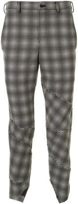 Comme des Garcons Optical-Print Trousers