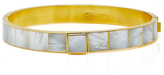 Monica Sordo Sulu Gold-Plated Obsidian and Mother of Pearl Choker