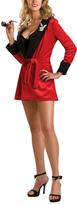 Rubie's Costume Co Red Playboy Robe Costume Set - Women