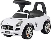 Mercedes Benz SLS AMG Push Car in White