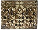 Christian Louboutin Kios snakeskin-print leather cardholder