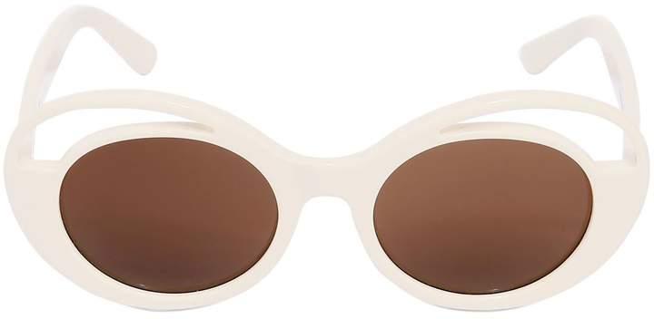 Kyme Round Acetate Sunglasses