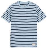 Tailor Vintage Sailor Stripe Jersey Pocket Tee (Little Boys & Big Boys)