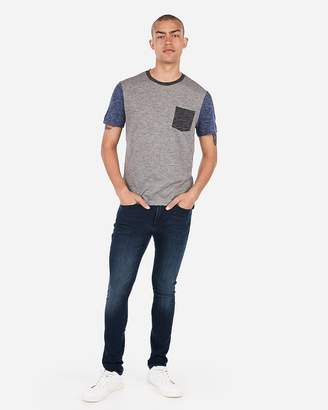 Express Burnout Color Block T-Shirt