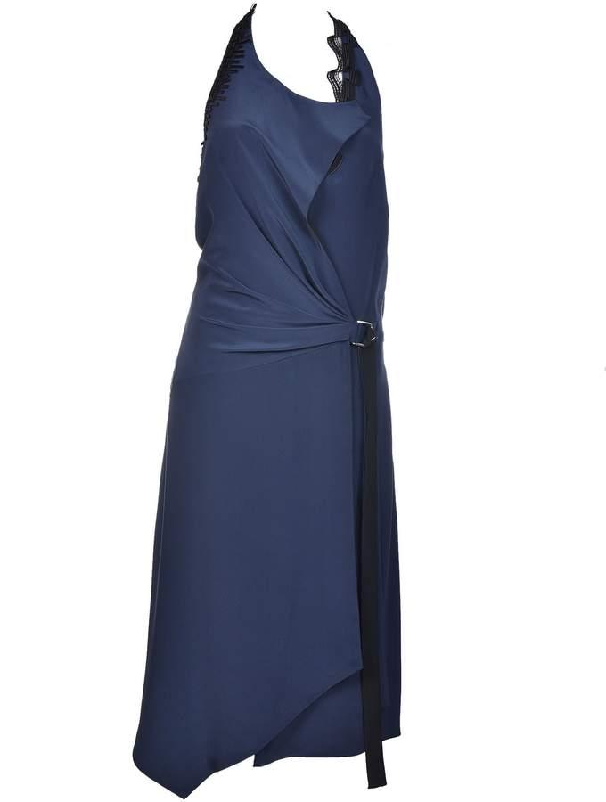 Versace Wrap Front Dress