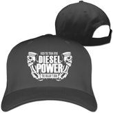 Diesel Power When The Turbo Spins Adjustable Sun Hats Dad Style Caps